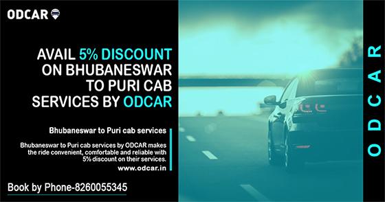 Bhubaneswar to Puri Cab services
